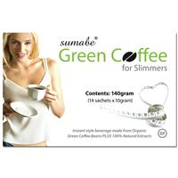 Sumabe Green Coffee for Slimmers 14x10g 140g