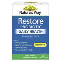 Nature S Way Restore Daily Probiotic 28 Capsules My Chemist