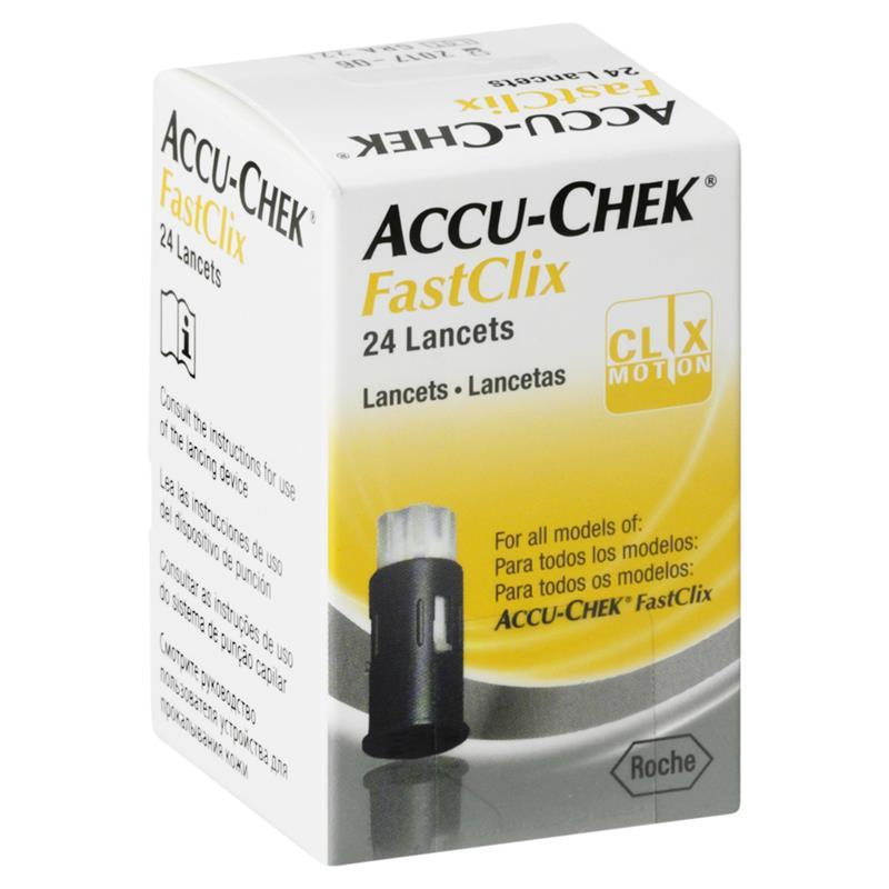 Image of Accu-Chek FastClix Lancets 24