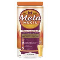 Metamucil Fibre Supplement Orange 48 Dose 528g