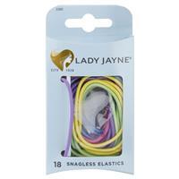 Lady Jayne Snagless Elastics, Assorted, Pack 18