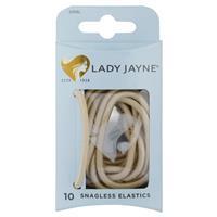 Lady Jayne Snagless Elastics, Blonde, Pk10