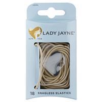 Lady Jayne Snagless Elastics, Blonde, Pk18