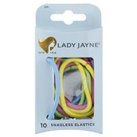 Lady Jayne Snagless Thick Elastics, Assorted, Pk10