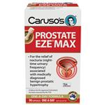 Carusos Natural Health Prostate EZE MAX 15000mg Pygeum 90 Capsules