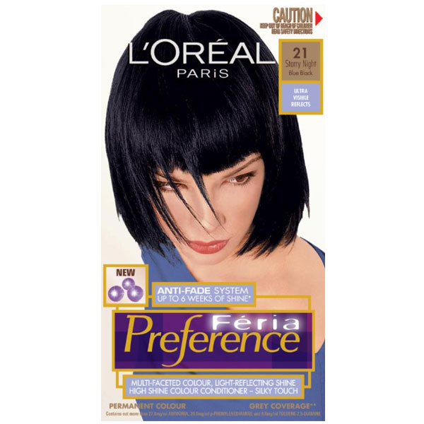 Loreal Feria Preference 21 Starry Night