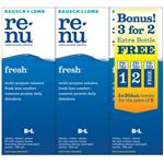 Bausch & Lomb Renu Fresh 3-for-2 355ml