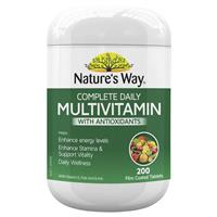 Nature's Way Multivitamin with Resveratrol Tablets 200