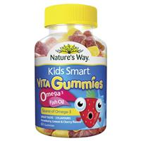 Nature's Way Kids Smart Vita Gummies Omega 3 Fish Oil 60