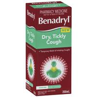 Benadryl Dry Tickly Cough 200mL