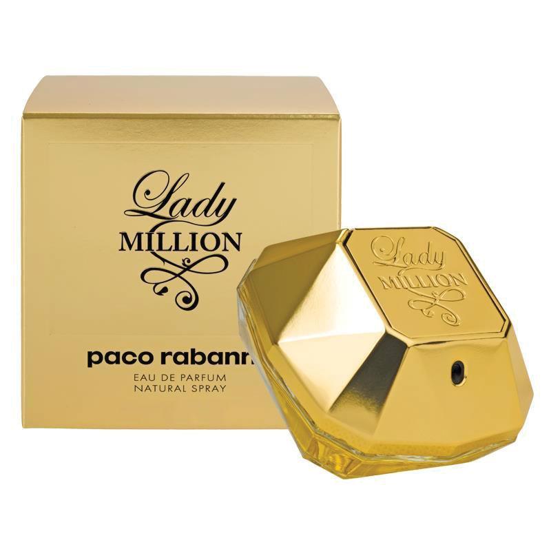 paco rabanne lady million eau de parfum 80ml chemist. Black Bedroom Furniture Sets. Home Design Ideas