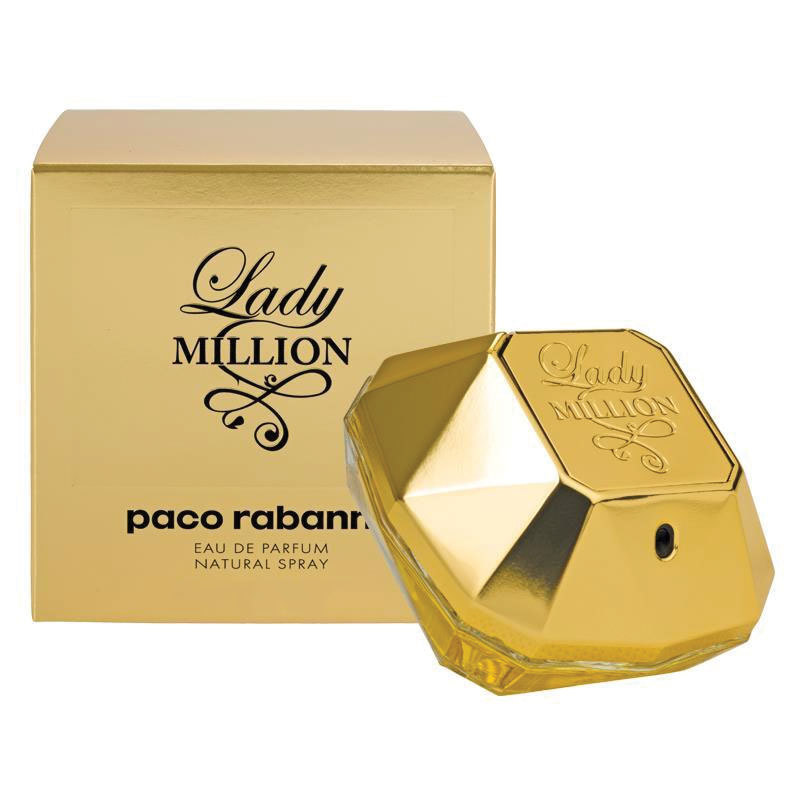 paco rabanne lady million eau de parfum 80ml my chemist. Black Bedroom Furniture Sets. Home Design Ideas