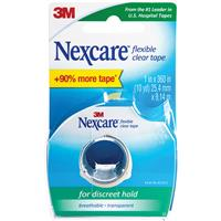 Nexcare Flexible Clear Tape Dispenser (Transpore) 19mm x 6.4m