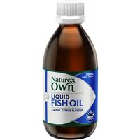 Nature's Own Fish Oil Liquid 300ml
