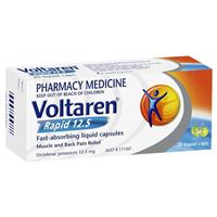 Voltaren Rapid 12.5mg Liquid Capsules 20