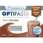 Optifast VLCD Sachets - Chocolate Milkshake x 21 Serves