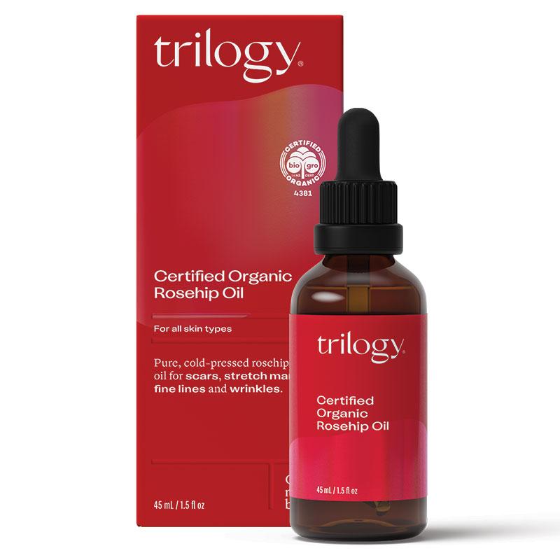 Rose hip oil for scars