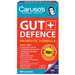 Carusos Natural Health Gut Defence 60 Capsules