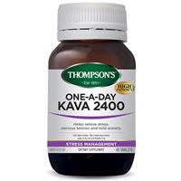 Thompson's One-A-Day Kava 2400mg 60 Tablets