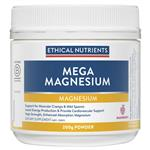 Ethical Nutrients Mega Magnesium 250g Powder (raspberry flavour)