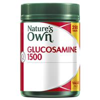Nature's Own Glucosamine 1500mg 250 Tablets