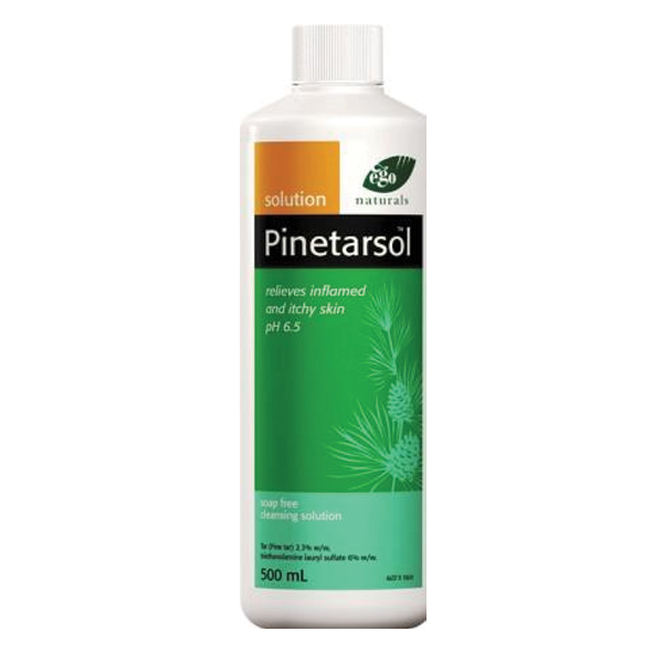 how to use pinetarsol solution