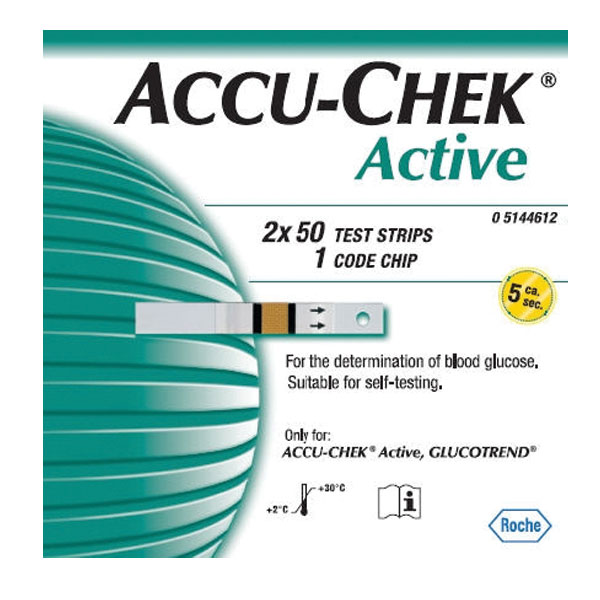 Image of Accu-Chek Active Strips 100
