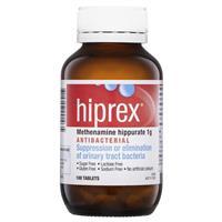 Hiprex 1g Tablets 100