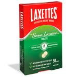 Laxettes with Senna 12mg 50 Tablets