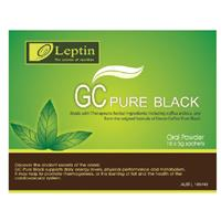 Leptin Green Coffee Pure Black 18x5g 90g