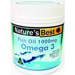 Nature's Best Fish Oil 1000mg 200 Capsules