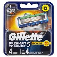 Gillette Fusion Pro Glide Power Cartridges 4 Pack