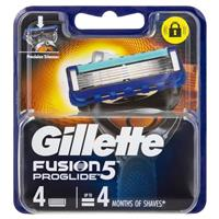 Gillette Fusion Pro Glide Manual Cartridge 4 Pack
