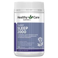 Healthy Care Super Sleep (Valerian 2000mg) 100 Capsules
