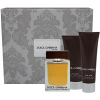 Dolce & Gabbana The One for Men 100ml Aftershave Balm 3 Piece Set