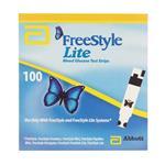Abbott Freestyle Lite 100 Blood Glucose Strips