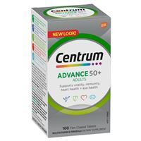 Centrum Advance 50+ Tablets 100