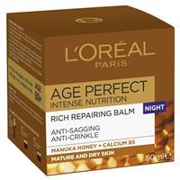 L'Oreal Dermo Age Perfect Intense Nutrition Night Cream 50mL