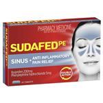 Sudafed PE Sinus/Anti-Inflammatory Tablets 24