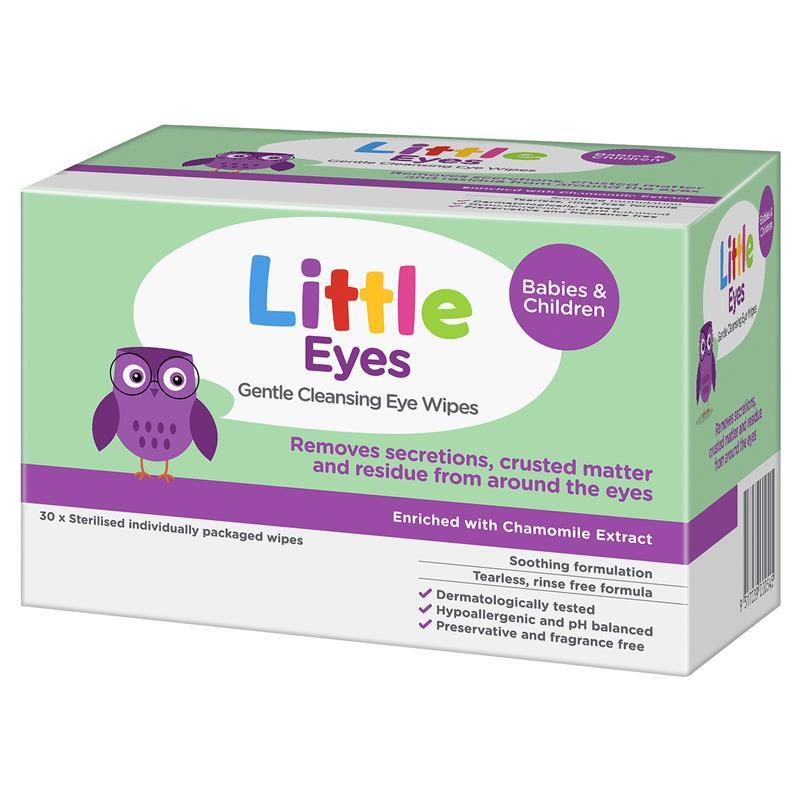 Little Eyes Cleansing Wipes 30 Chemist Warehouse