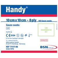 Handy Gauze Swabs 10cm x 10cm Sterile 100 Pack