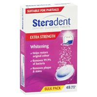 Steradent Extra Whitening 48 Tablets