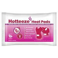 Hotteeze Heat Pads Pain Relief Patches for Period, Back and Shoulder pain 10 Pack