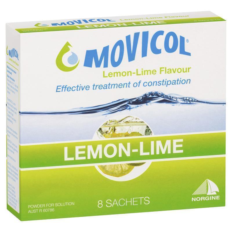Movicol Powder Sachets 13g Lemon Lime 8