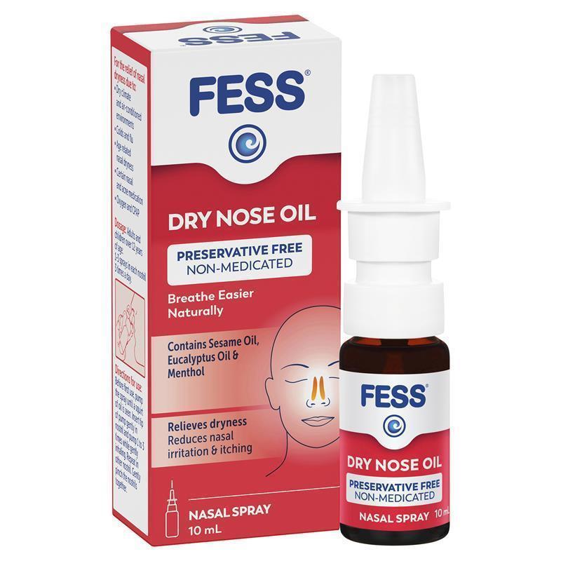 Buy Fess Dry Nose Oil Nasal Spray 10ml Online at Chemist ...