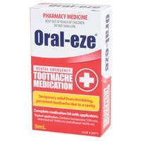 Oral Eze Dental Emergency 5ml