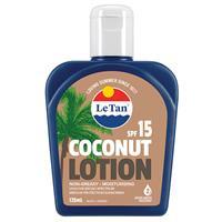Le Tan Coconut SPF 15+ 125ml