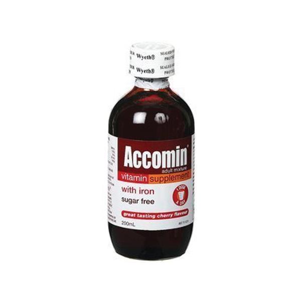 Image of Accomin Adult Tonic 200ml
