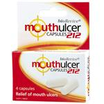 Mouth Ulcer 212 Capsules 4 Pack