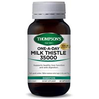 Thompson's One-A-Day Milk Thistle 35000mg 60 Capsules